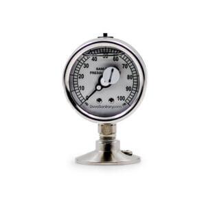 Sani-Flow Pressure Gauge