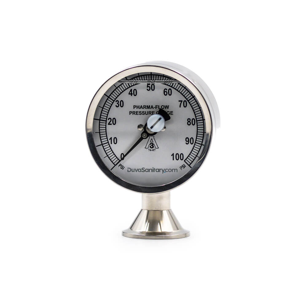 Pharma-flow Pressure Gauge